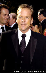 Kiefer at the 2004 Emmy Awards